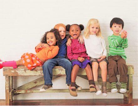 Multi racial children