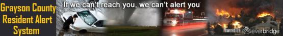 Grayson County Resident Alert System