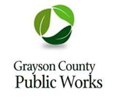 Grayson County Public Works Logo